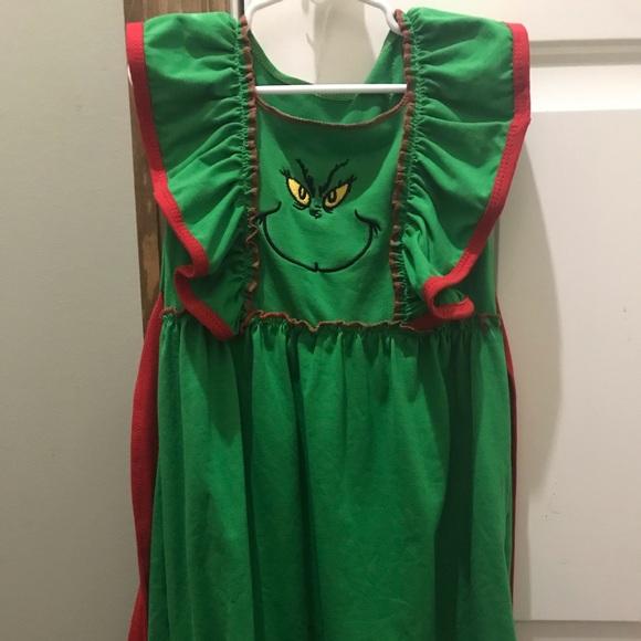 Boutique Dresses Grinch Christmas Dress Poshmark